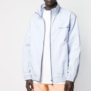 Filling Pieces Sottomarina Track Zip Jacket Blue